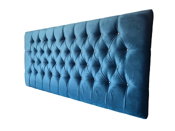 Tufted Chesterfield Velvet Bedhead