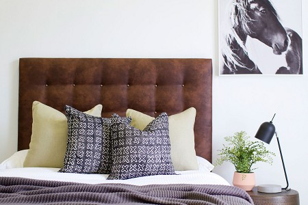 Eastwood Leather* Upholstered Bedhead